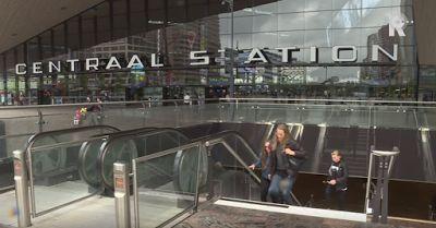 Binnenkant : Pianotrap op Rotterdam Centraal Station