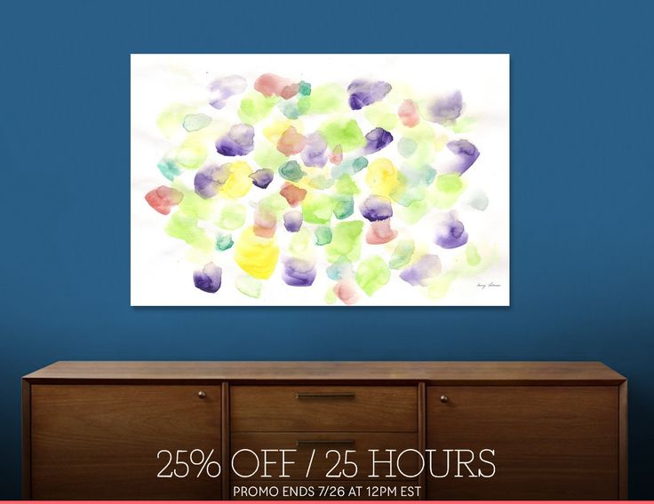 Discover «170725 Abstract Watercolour 8», Limited Edition Acrylic Glass Print by valourine - From $99 - Curioos