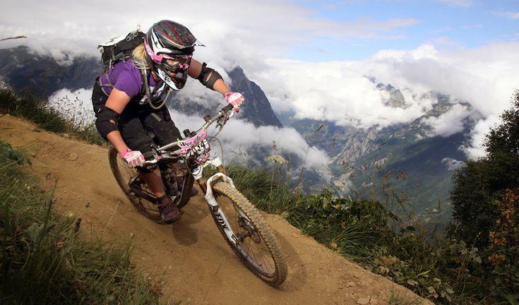 Les Deux Alpes, France - Rider: Angela Coates