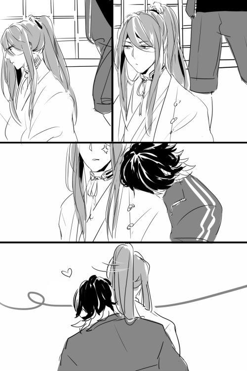 Hachisuka x Nagasone Kotetsu