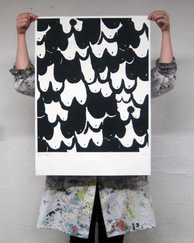 'Nipple' art print by Butler/Lindgård