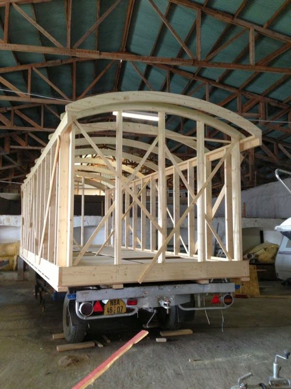 Ecotistic Building A Circus Showman S Wagon Gypsy