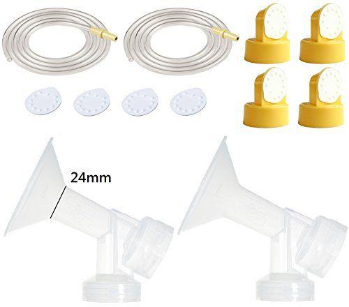 how to use medela membrane caps