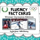 Winter Olympic Fluency Fact Task Cards. 32 fact task cards, 2 assessments and 2 answer keys included.