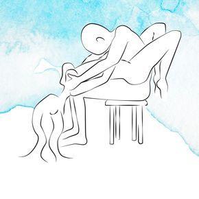 Drunter und drüber: Sex auf einem Stuhl. Pinne Deine Lieblings-Sexstellung auf Deinem Inspirationen-Board!