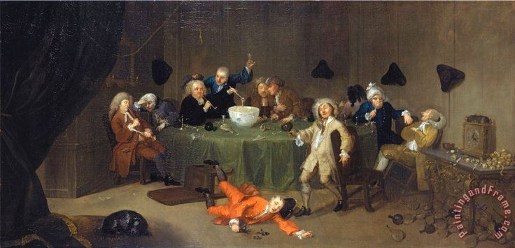 Image result for hogarth painting