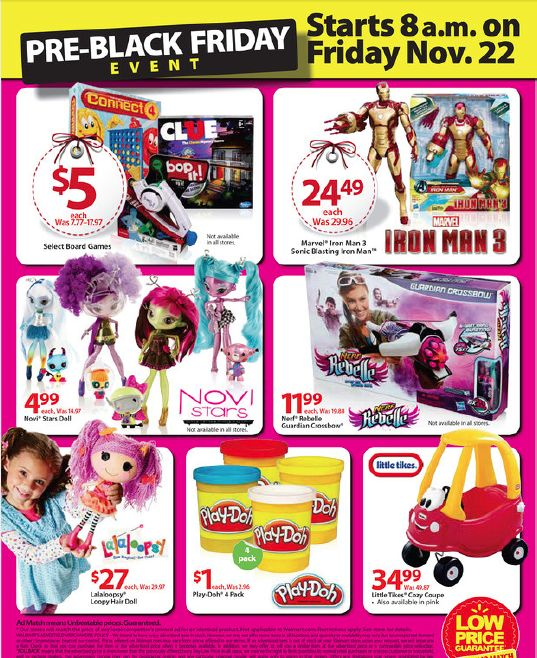 Walmart Black Friday Starts THIS Friday November 22 See the Pre Black Friday Ad Preview