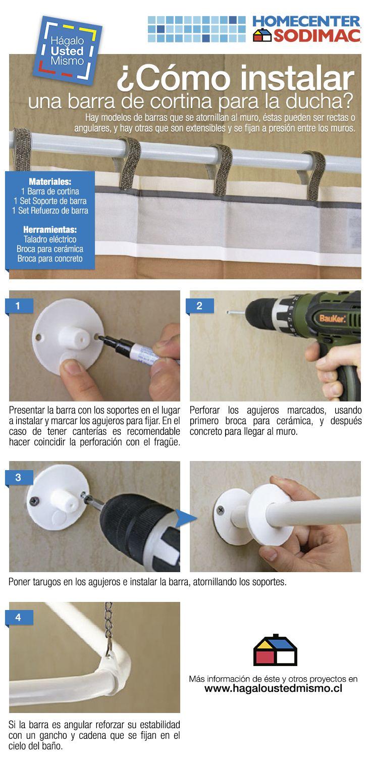 Las barras de cortina de ba o se desgastan con el uso y - Como combatir la humedad ...