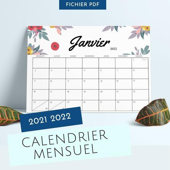 Calendrier 2022 à Imprimer Pinterest Calendar 2021 2022   wall calendar 2021 2022   Agenda   Monthly