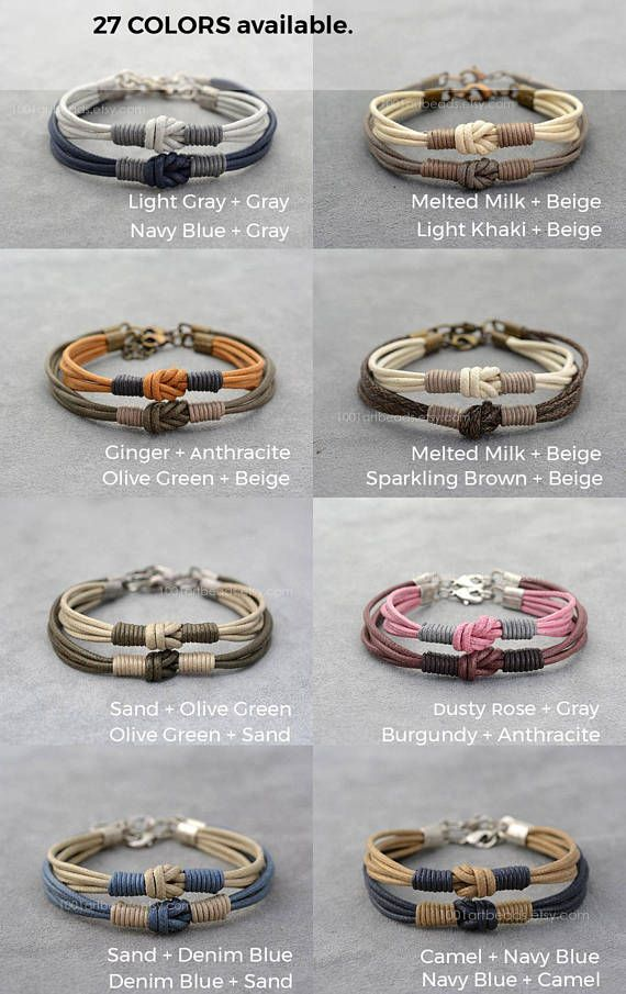 bracelet couple pour 2