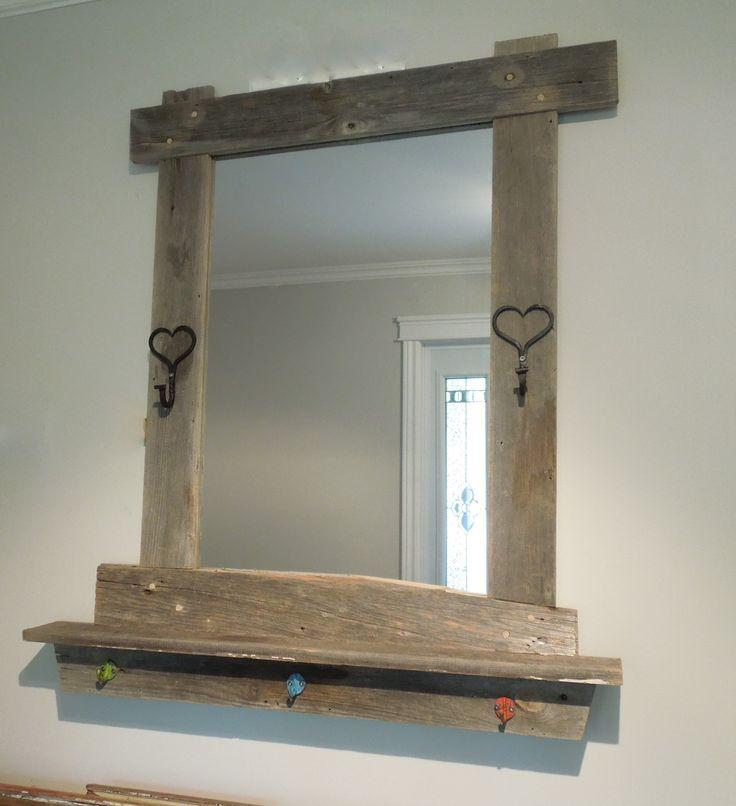 Les 25 meilleures id es de la cat gorie miroir fer forg for Miroir bois de grange