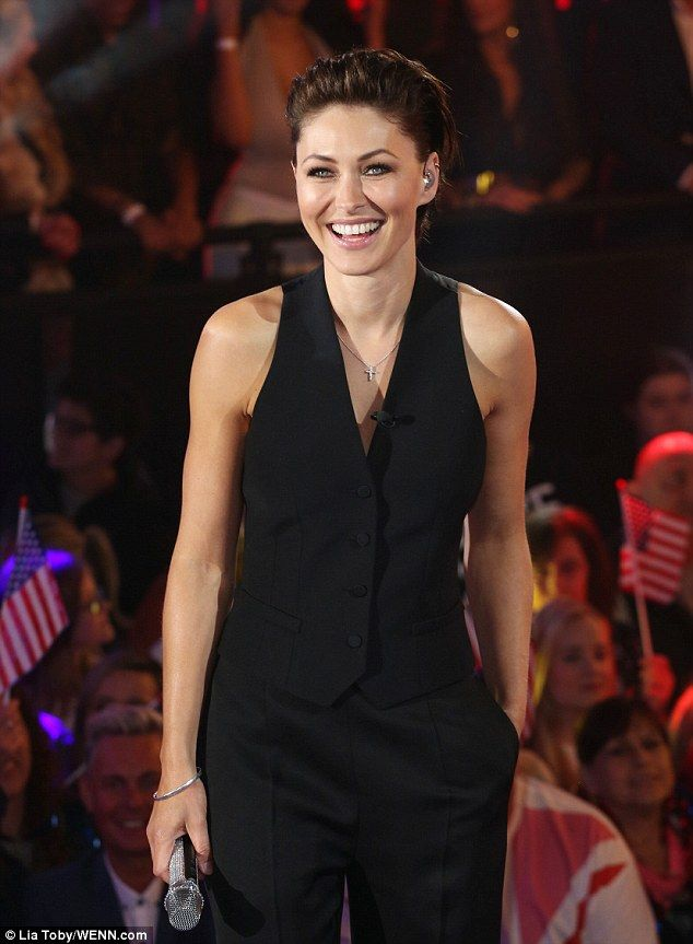 'Do you think you can make the nation proud?!' Emma Willis gushed to the first personality...