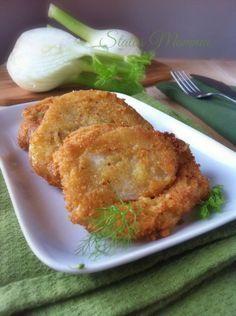 Cotolette di finocchi ricetta Statusmamma Giallozafferano foto blog blogGz Tutorial foto impanato panato fritto contorno secondo veloce gustoso facile vegetariano