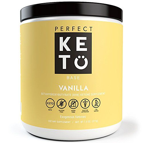 Perfect Keto Base Exogenous Ketone Supplement – Beta-Hydroxybutyrate (BHB) Salts – Ketones for Ketogenic Diet Developed to Support Energy,…