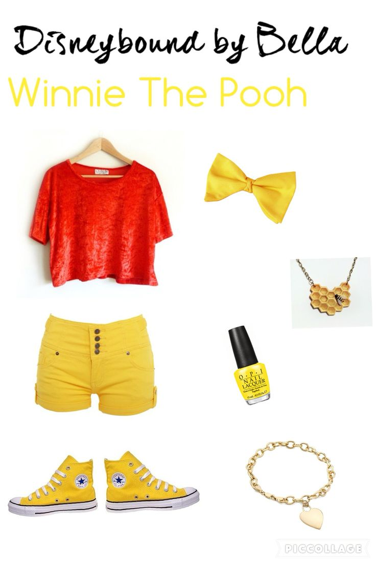 Pooh Disneybound- Spring/Summer