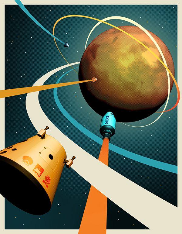 Life on Mars on Behance