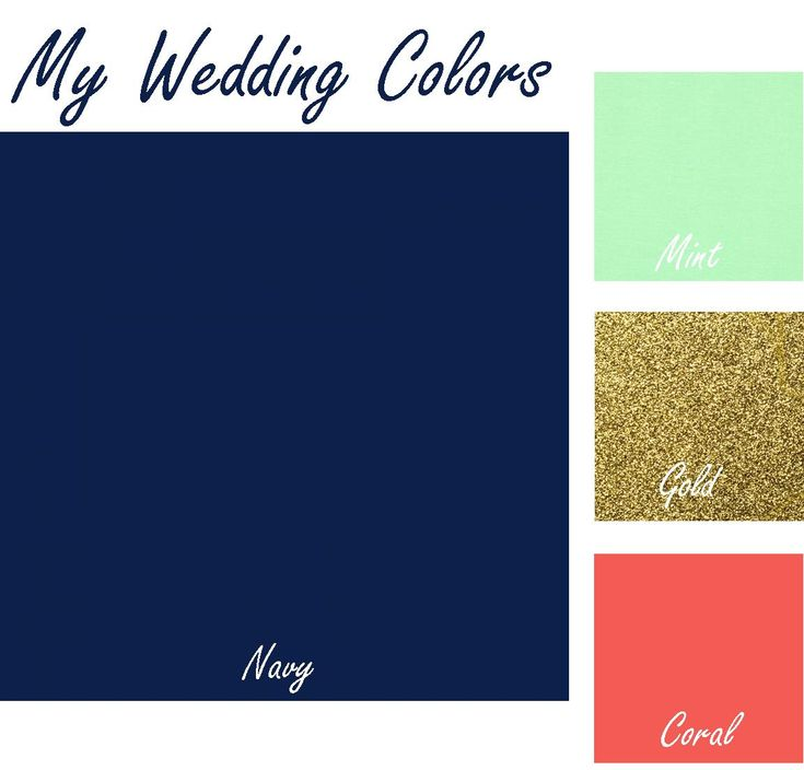 How perfect, exactly it!   Wedding colors are navy blue, mint, coral with touch of gold. #VABeachWedding