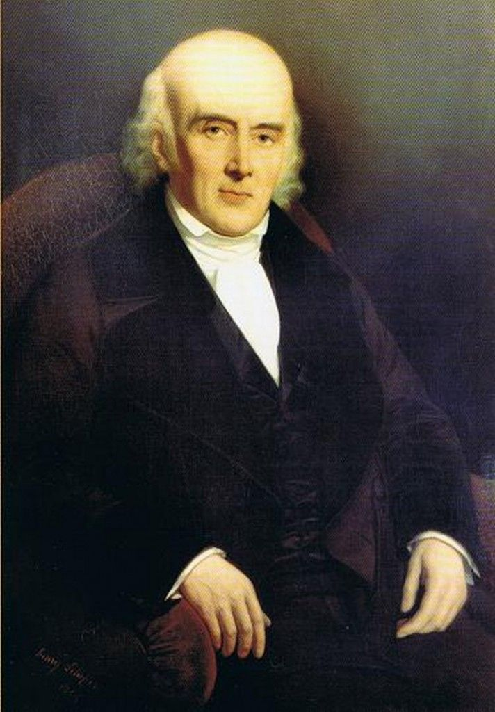 Dr. Samuel Hahnemann (1755-1843), German doctor and founder of homeopathy