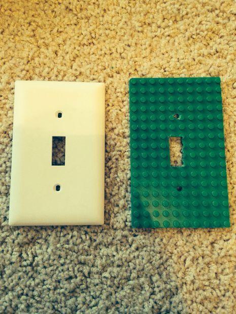 DIY lego light plate cover                                                                                                                                                                                 More
