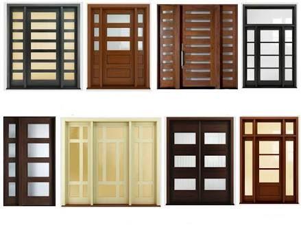 Mejores 7 im genes de puertas madera vidrio en pinterest for Puertas de madera con vidrio para interior