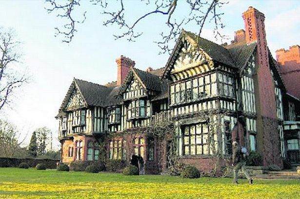 Wightwick Manor is a Victorian manor house in Wightwick Bank, Wolverhampton, England, It is one of only a few surviving examples of a house built and furnished under the influence of the Arts and Crafts movement