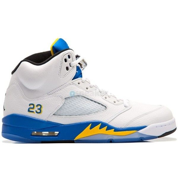 low priced a6e0c e7096 ... Air Jordan V 5 Retro Laney 2013 ❤ liked on Polyvore featuring shoes and  jordans . ...