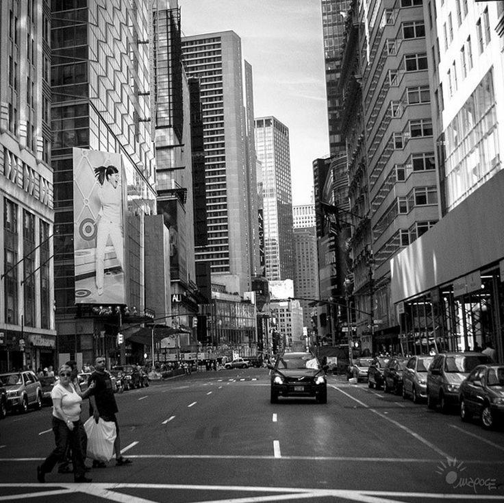 NYC 2005 - crosswalk