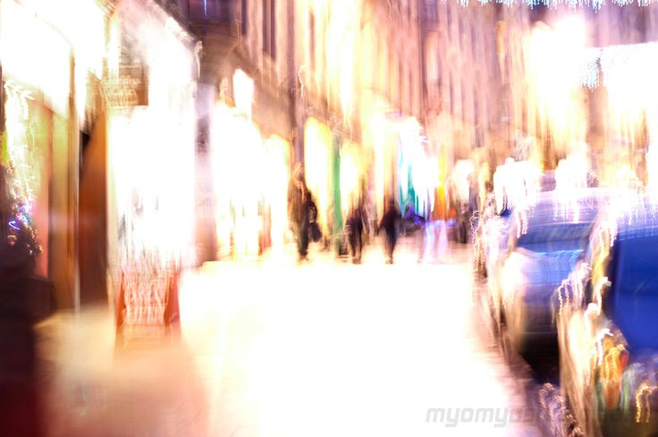 #myomyostudio `s #photography of #night #cityscape #carnival #lights #downtown #colors #impression #bokeh