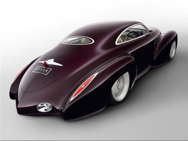 Holden EFIJY Concept Car (2) ~ A wild 21st Century hot rod reincarnating Australia's most famous car, the FJ Holden..