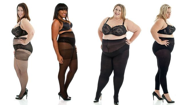 Hosiery & Tights For Plus Sizes