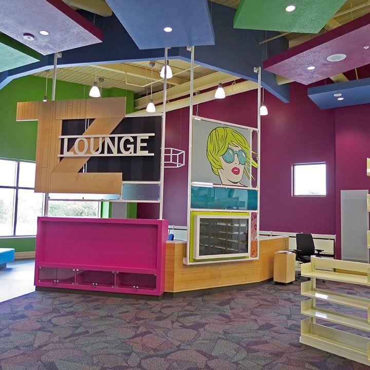 Teen Library Space in Sarasota