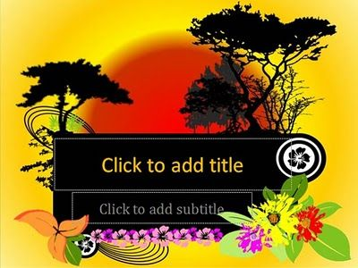 Special nature template, 2 different sunset background, special background for first slide, full spring concept, full floral and nature vector art, inspire nature background, default and standard font, compatible for many kind presentation, easy to use.