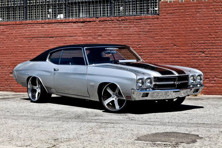 American Muscle Cars…   Custom Chevrolet Chevelle SS 1970