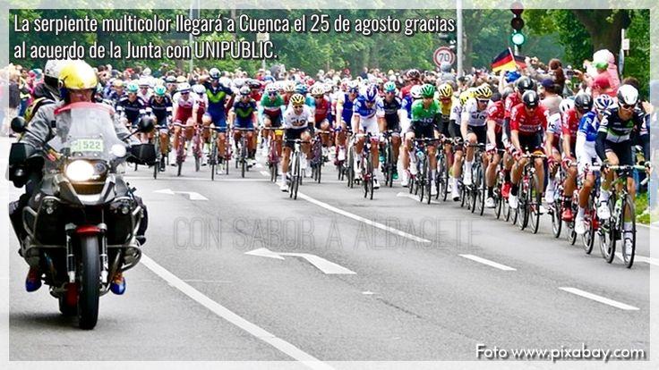 LOS BENEFICIOS DE LA VUELTA CICLISTA A ESPAÑA EN CASTILLA-LA MANCHA  Castilla-La Mancha Ciclismo Deportes Vuelta ciclista a España 2017