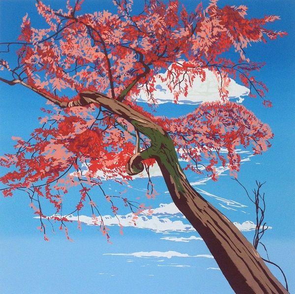 Jonathan Purday - Meditation in Red on www.eyestorm.com