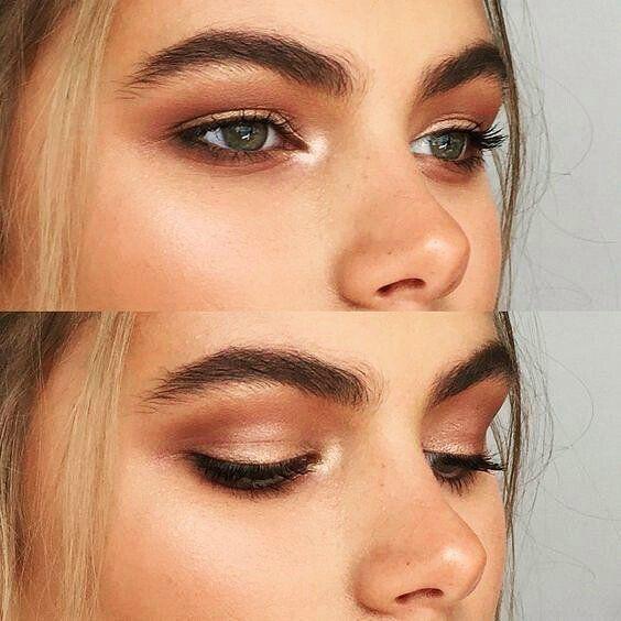 La tendencia de este año es de llevar cejas gruesas y más al natural tonos tierra muy orgánicos. Qué te parece? Si o no?  #maquillaje #makeup