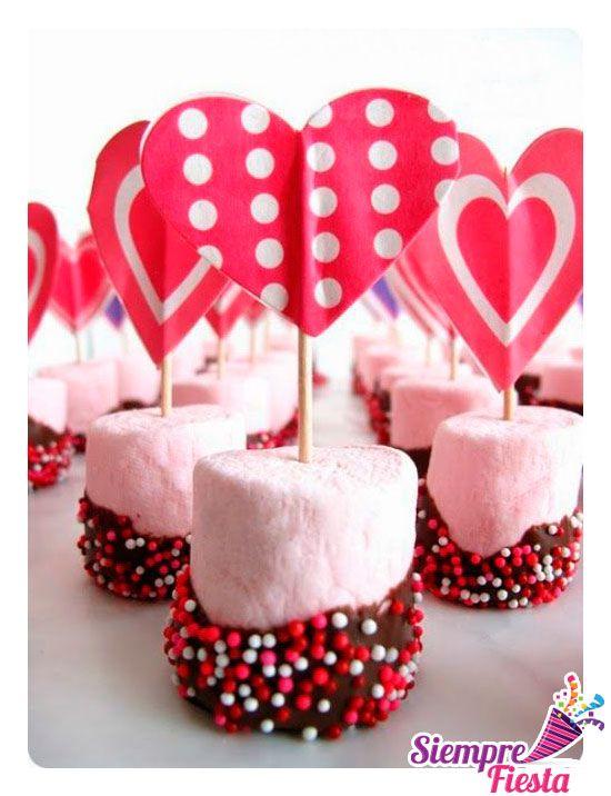 Snack 3 para Día del Amor y la Amistad. Encuentra nuestros productos aquí:  http://www.siemprefiesta.com/fiestas-de-temporada/dia-del-amor-y-la-amistad.html?utm_source=Pinterest&utm_medium=Pin&utm_campaign=Valent%C3%ADn