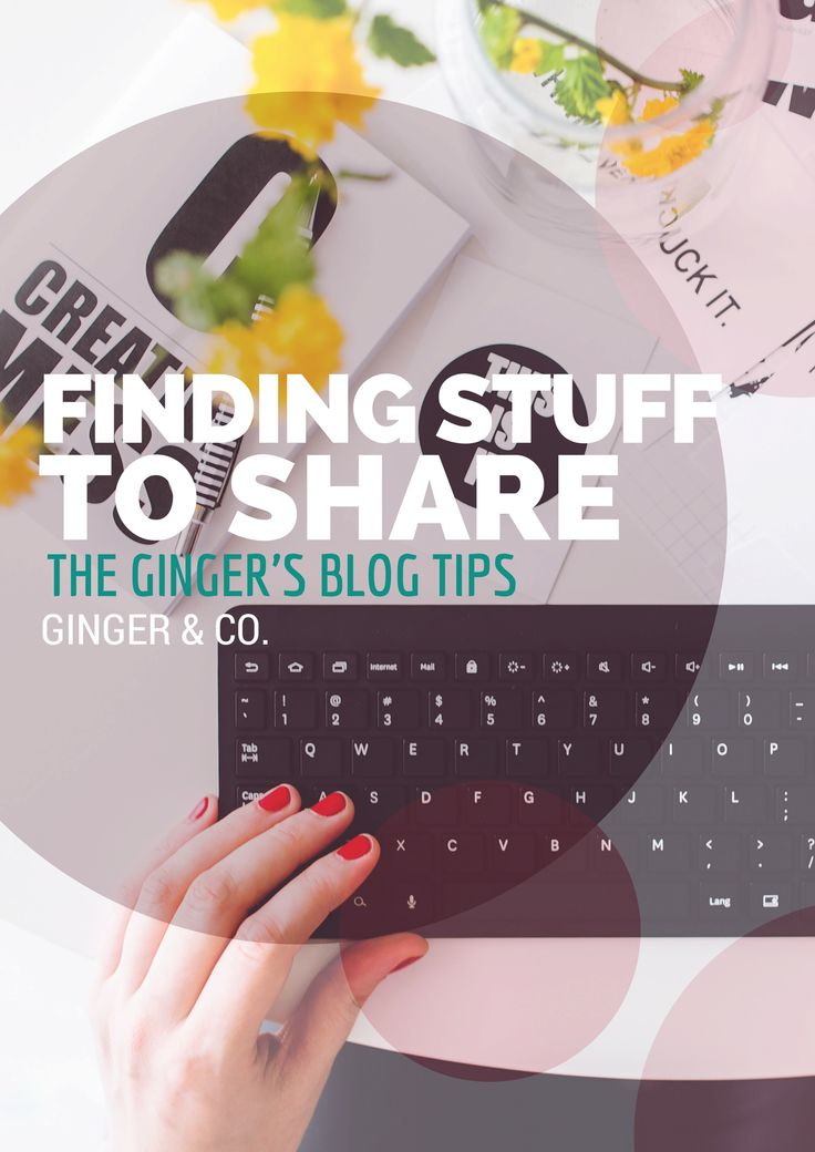 Finding Content to Share