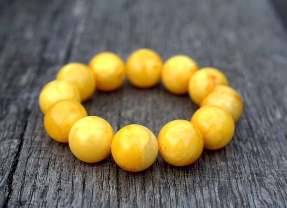 52.9 mm Hudge Baltic amber bracelet  amber bracelet  amber