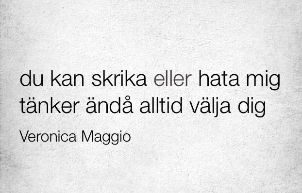 Veronica Maggio-Hädanefter