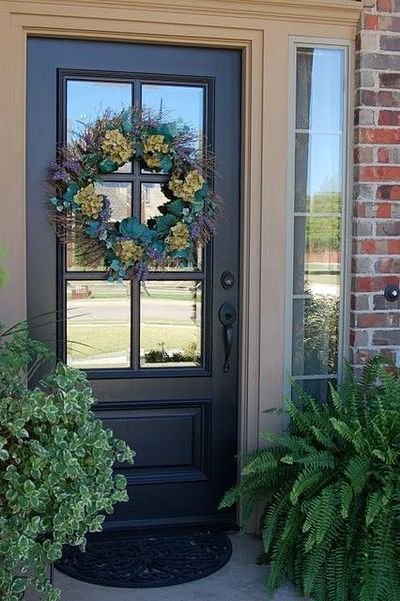 front doors for brick house - Google Search