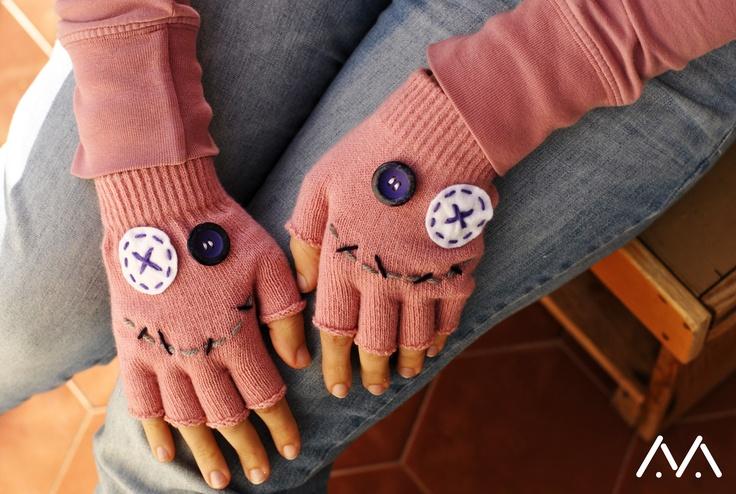 smiling gloves