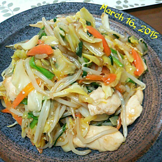 野菜モリモリ食べまくり❤ - 75件のもぐもぐ - ささみ 野菜炒めの中華あんかけ by tototamap