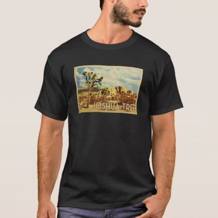 Joshua Tree Vintage Travel T-shirt - tap, personalize, buy right now!
