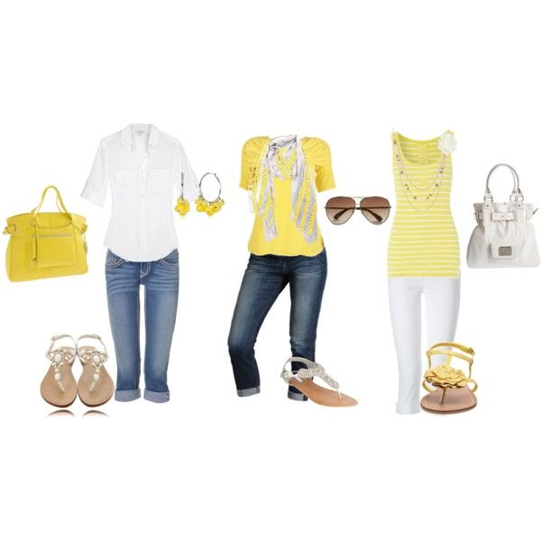 {yellow}Springsummer Collection, Fashion Ideas, Fashion Styles, Spring Summe Collection, Spring Summer, Outfit Style, Work Outfit, Style Closets, Spring Outfits