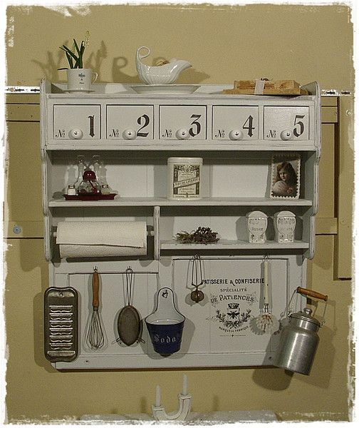 wandregale wandregal schubkastenregal shabby ein. Black Bedroom Furniture Sets. Home Design Ideas