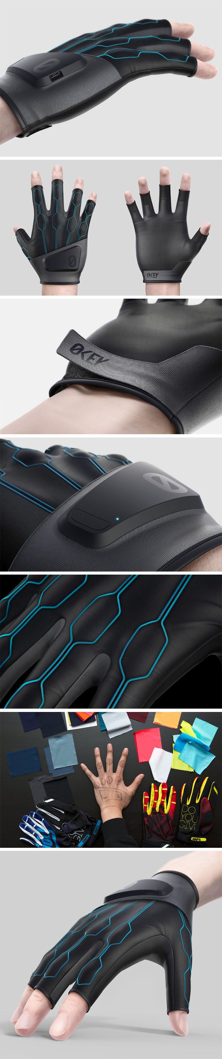 Zerokey, a Canadian Start-up, are developing a special technology that enables millimetre-level digital interaction, by using your fingers. This technology is being brought to life in the form of the sleek and advanced Zerokey VR Glove. The complex, technological inner workings of Zerokey are covered by a carefully considered and sleek design.
