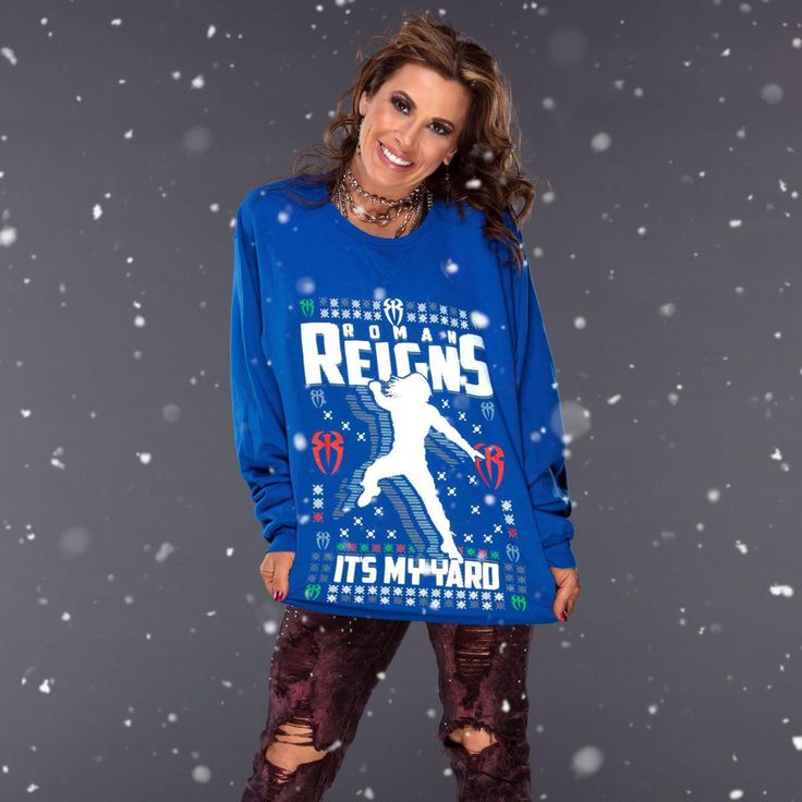 WWE Superstars Wear Ugly Christmas Sweaters (Photos). – Page 2 – RumblingRumors