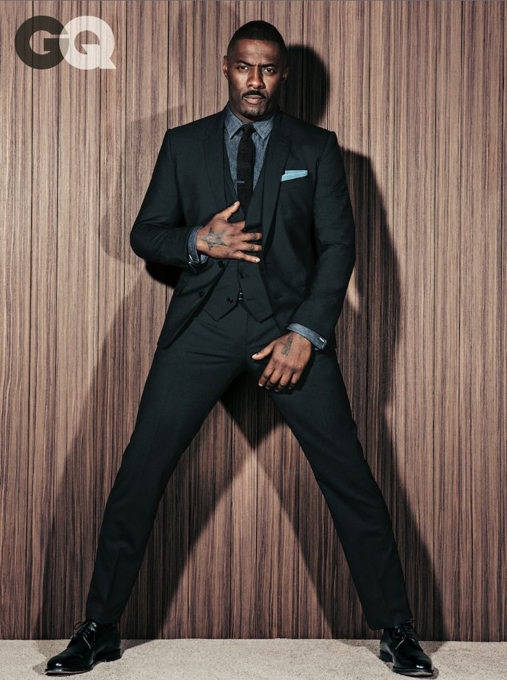 The Wire and Luther star shares the coveted style issue with Jeff Bridges and Justin Theroux.