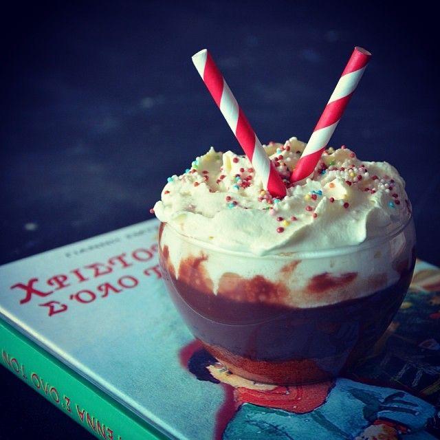 Η σοκολατόσουπα των Χριστουγέννων από σήμερα στο CapCap! Chocolate soup!